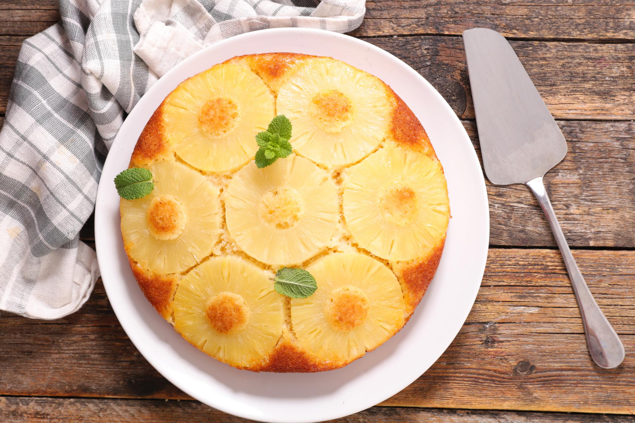 recette-ananas-cuisine-enfance-gâteau-renversé-atelier-cours cuisine parent enfant