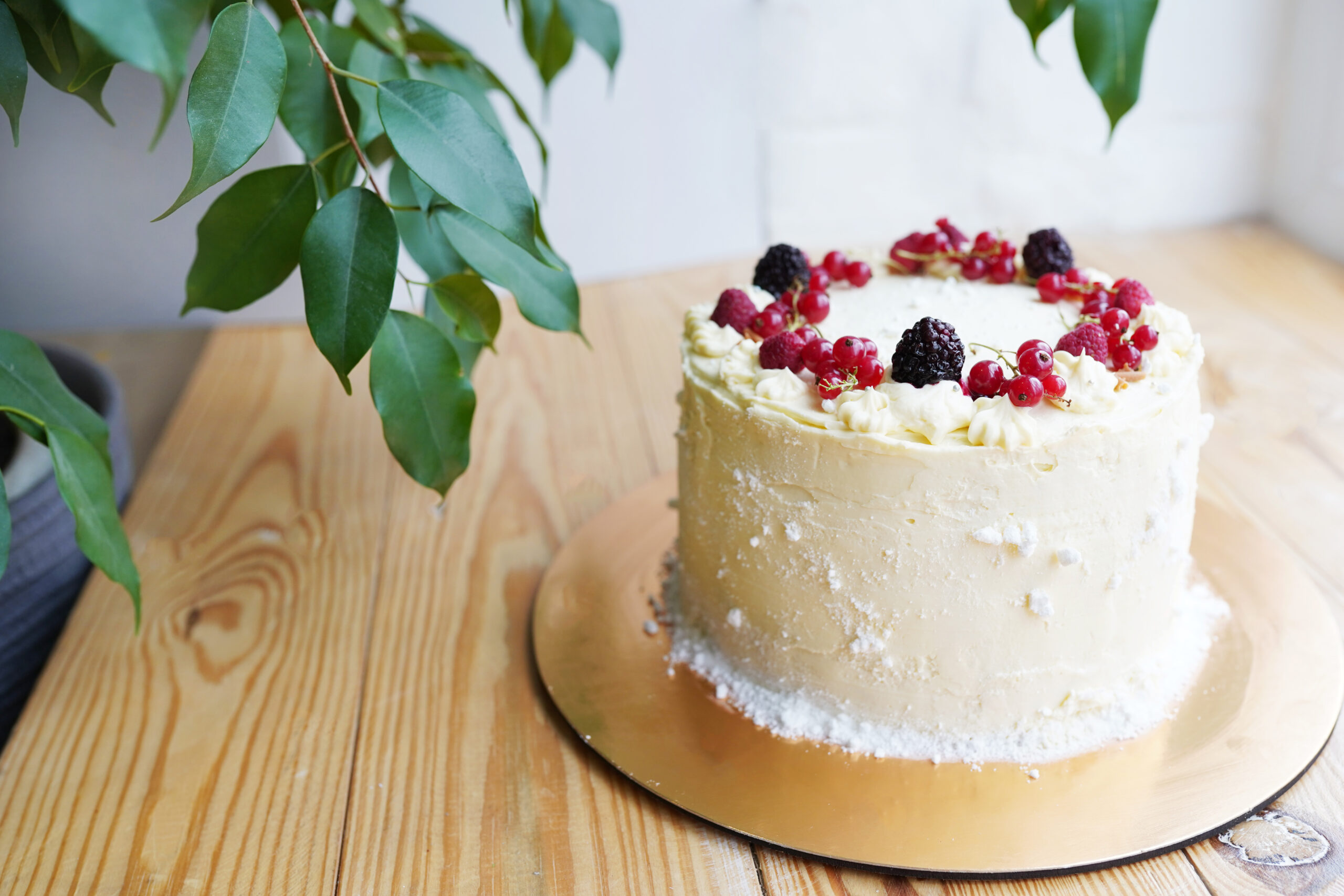 Layer cake fruits rouges-atelier-pâtisserie-cours